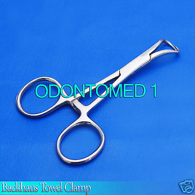 20 Backhaus Towel Clamp 5.5 Surgical Medical Instruments