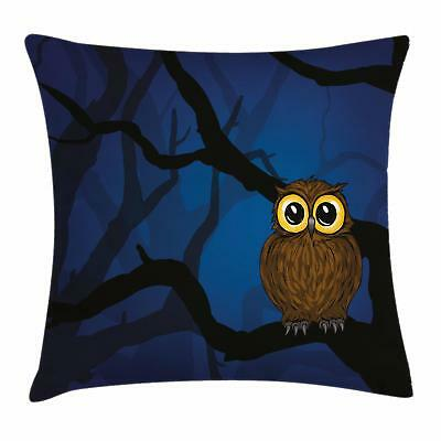 Night Throw Pillow Cases Cushion Covers Ambesonne Home Decor