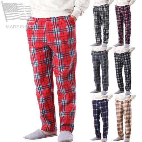 Mens Flannel Fleece Pajama Pant Lounge Pants Sweatpants Size S M L Xl Xxl Jogger