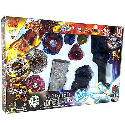 Beyblade Lot Set w/ Big Bang Cosmic Pegasus, Variares, Evil Befall - USA SELLER!