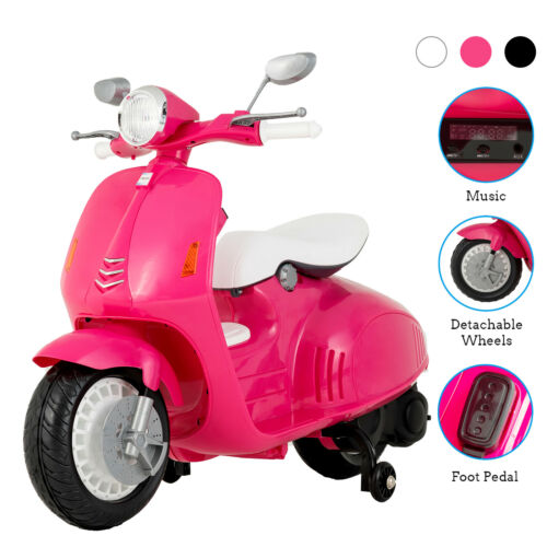 12V Children Electric Scooters Ride On Toys Kids Motorcycle