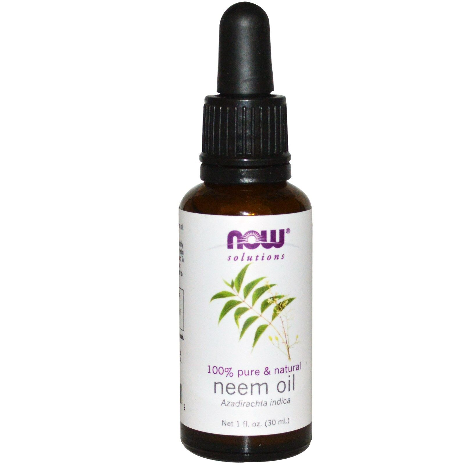 NOW Foods 1 oz Essential Oils and Blend Oils - FREE SHIPPING! Neem (w/ Dropper)