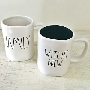UFT/UFS Rae Dunn HARD TO FIND FAMILY /WITCHES BREW mugs