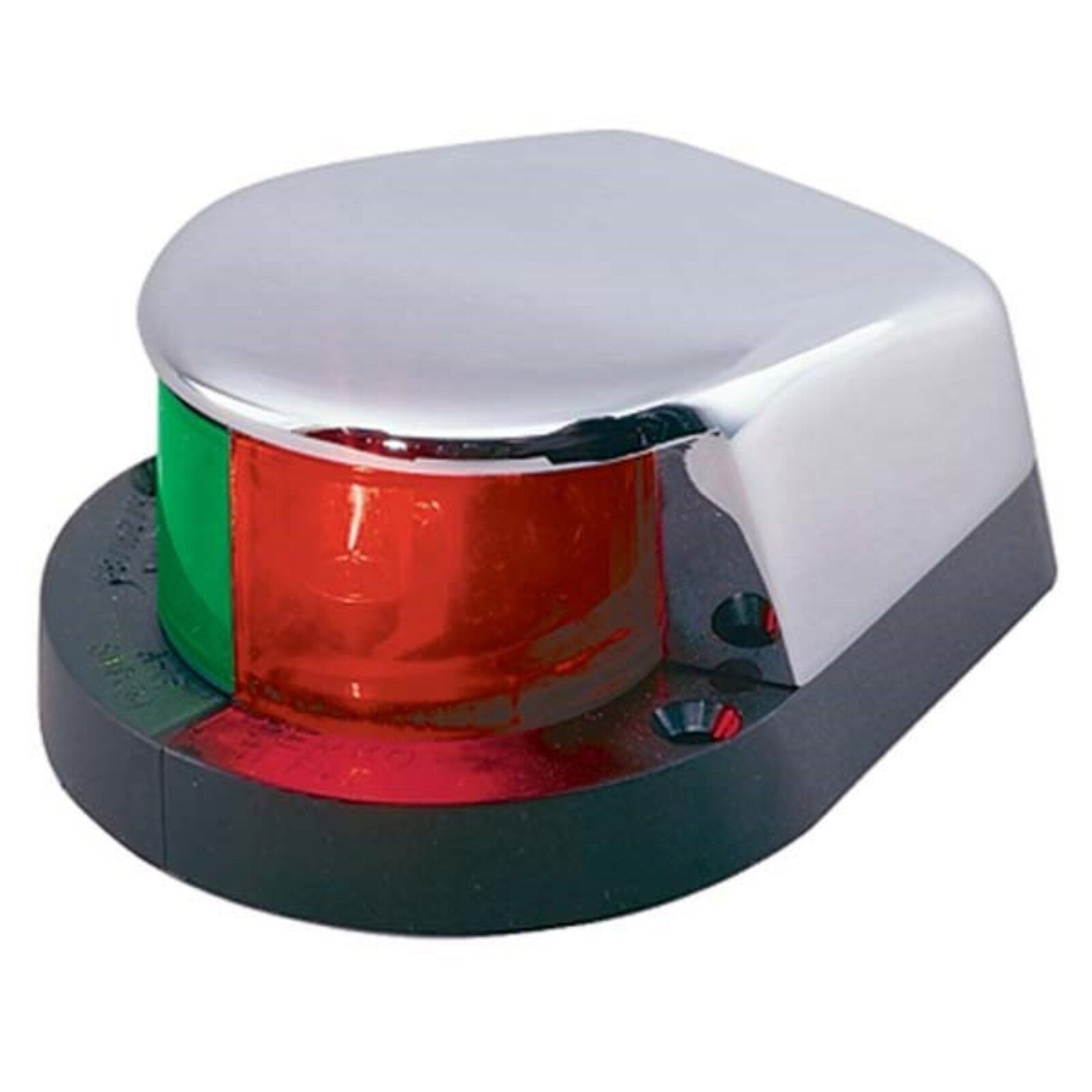 "Perko 252WB0DP1 Bi Color Deck Mount Bow Navigation Light 3.5/""X2.25/"""