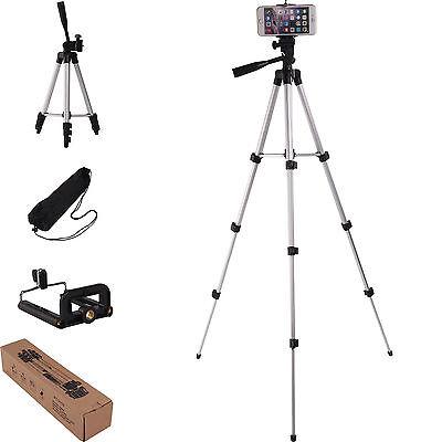 Camera Tripod Stand Mount Holder For Digital Camcorder iPhone Phone DSLR SLR+Bag