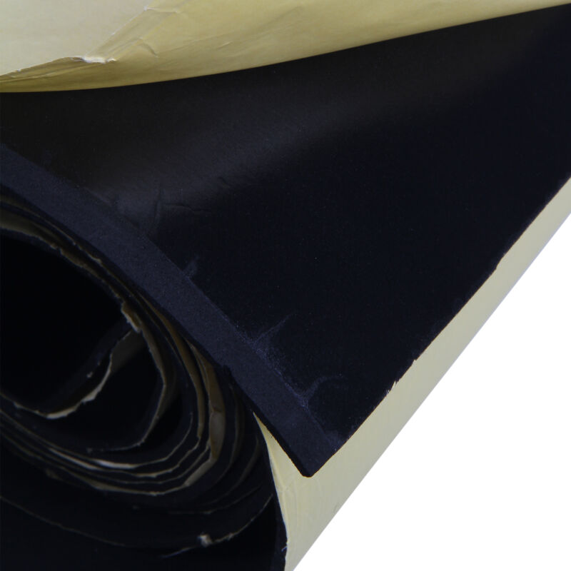 Sound Proof Insulation : M roll car sound proofing closed cell foam deadening van