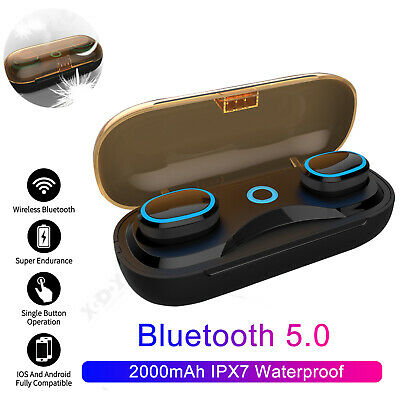 Wireless Earphones Bluetooth Headset Waterproof Sport Headphones For Swimming UK