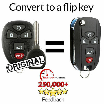 For 2009 2010 2011 2012 2013 Chevrolet Traverse Remote Keyless Entry Flip Key
