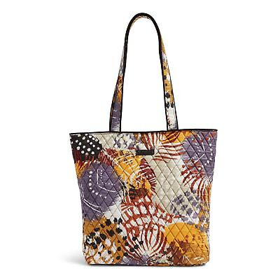 Vera Bradley Tote Bag in Painted Feathers