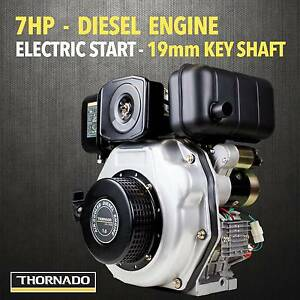 Thornado 7HP Stationary Motor DIESEL Engine 19mm Horizontal Shaft Chipping Norton Liverpool Area Preview