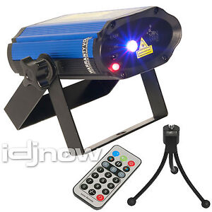 Chauvet Lighting Min Laser RBX  Red Blue DJ Laser Lighting Effect Remote Stand