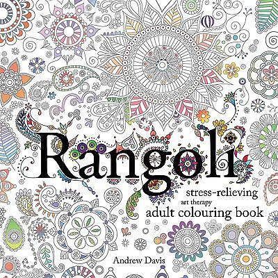 Rangoli: Stress-Relieving, Art Therapy Adult Colouring Book-Paperback