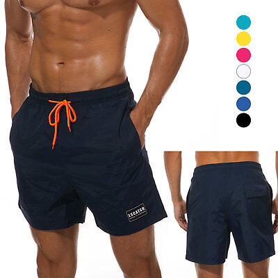 Male Swim Trunks Bathing Suit Quick dry with Pockets Lining Soft Summer - Male Bathing Suit