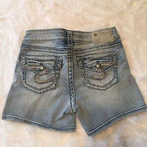 Silver Shorts size 26
