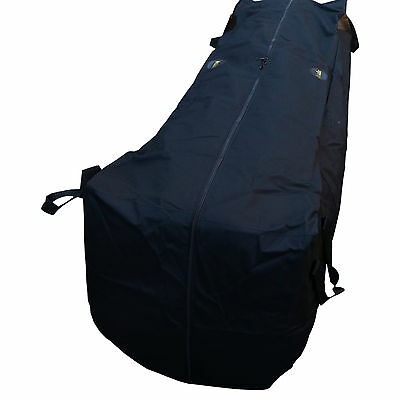 "ACCLAIM Carpet Carry Bag Heavy Duty Black Carpet Bowls Handles & Zips 78"" x 21"""