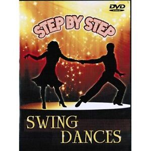 Step by Step SWING DANCES (DVD) learn how to dance dancing jitterbug charleston
