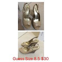 Guess Ladies Shoes The Vines Swan Area Preview