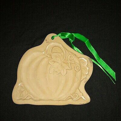 Vintage Brown Bag Cookie Art 1988 Pumpkin Mold