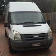 2010 FORD TRANSIT LONG WHEEL BASE HIGH ROOF VAN Brighton East Bayside Area Preview