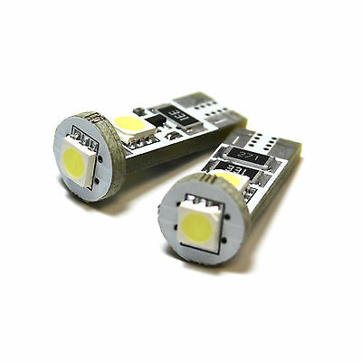 Ssangyong Rexton 8SMD LED Error Free Canbus Side Light Beam Bulbs Pair Upgrade
