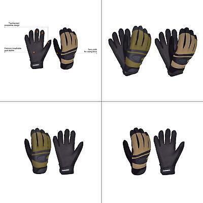 Large Goat Leather Medium-duty Glove 2-pack