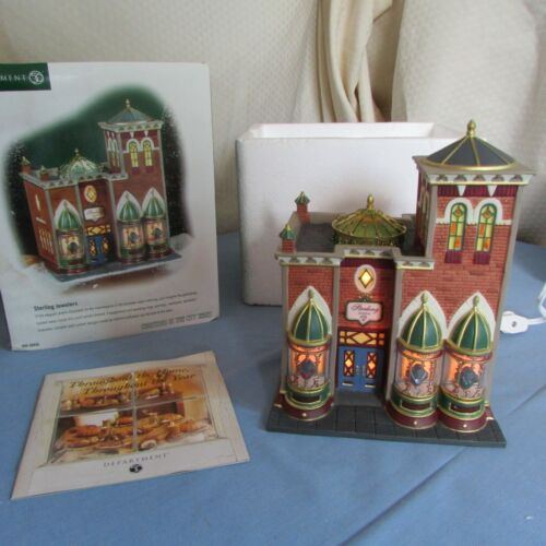 Department 56 Christmas In The City Sterling Jewelers  #58926