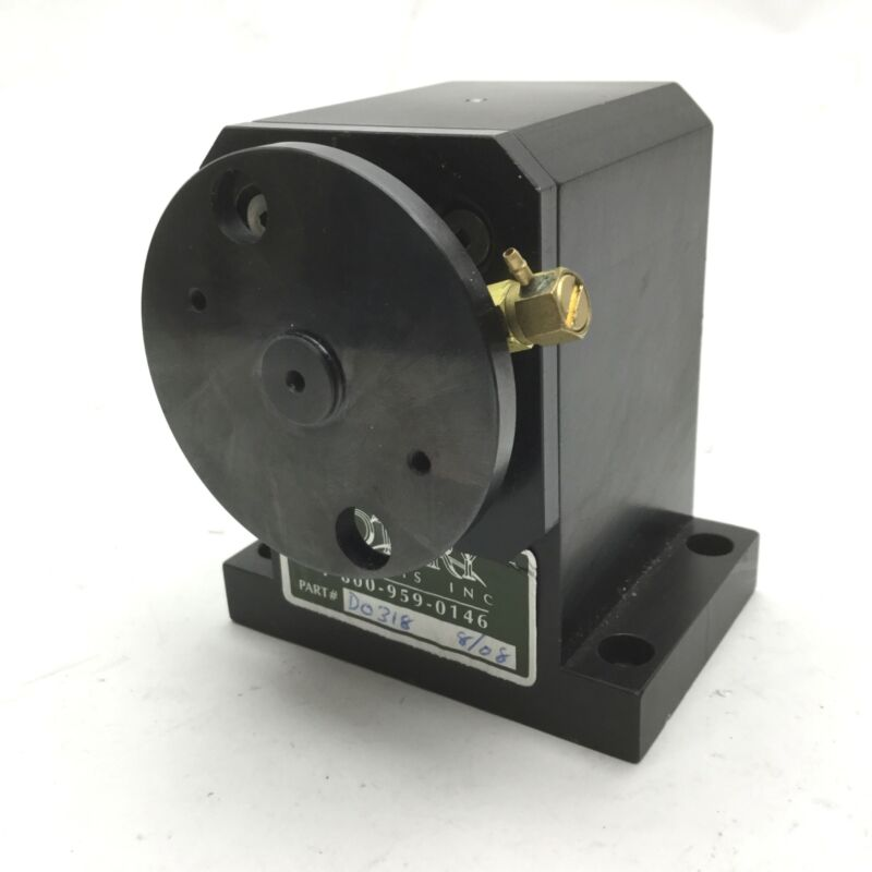 """Rotary Systems D0318 Pneumatic Rotary Actuator 360° Shaft: 3/8"""" Base: 3.25x2.25"""""""