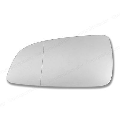 Left side Mirror glass for Vauxhall Astra H 04 08 wing Wide Angle Passenger