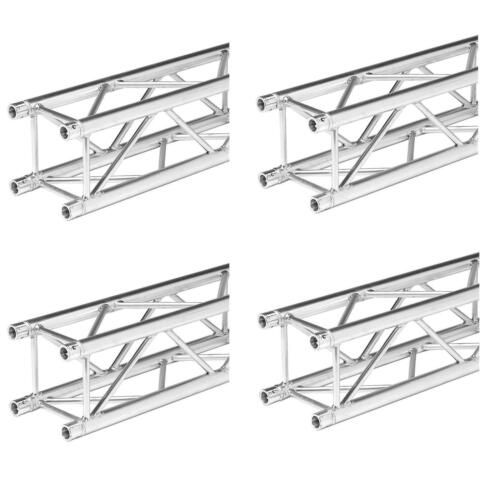 6.56 Foot Straight Square Truss Segment for F34 Trussing (4 Pack) 2 Meter