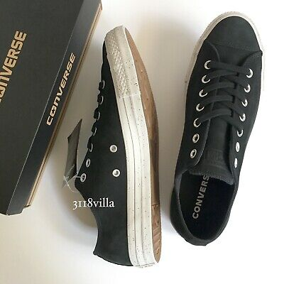 Converse CHUCK TAYLOR ALL STAR OX Men's Leather Nubuck Low Top Sneaker sz 10