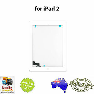 iPad-2-2nd-Gen-GLASS-TOUCH-SCREEN-DIGITIZER-Home-Button-Adhesive-WHITE