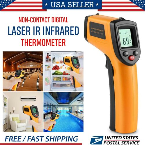 New Temperature Gun Non-contact Digital Laser Infrared IR Th
