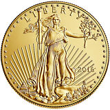 2016 $5 1/10oz American Gold Eagle BU