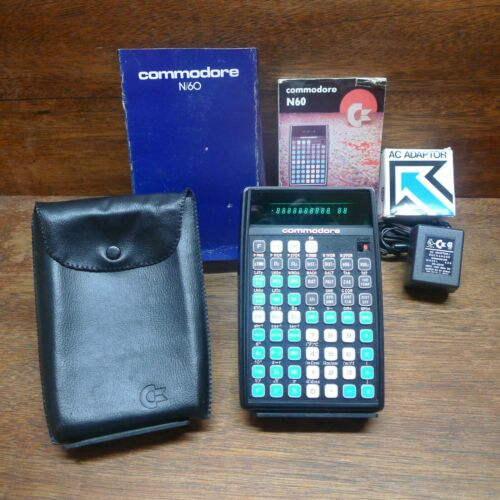 COMMODORE N60 ULTRA RARE NAVIGATION VINTAGE CALCULATOR MIB WORKS PERFECTLY!
