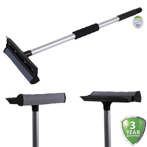 Glass Window Cleaning Squeegee Blade & Sponge Washer Wiper Cleaner Home Shower
