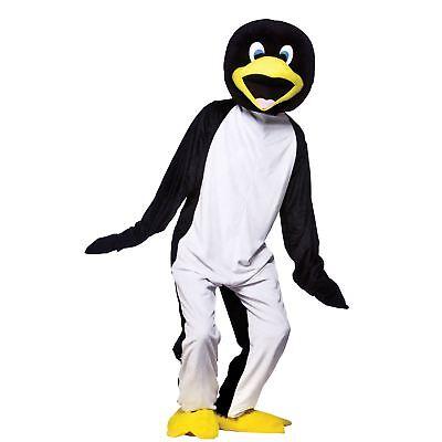 Sports Mascot Costumes (Halloween Penguin Full Body Mascot Charity & Sports Events Fancy Dress)