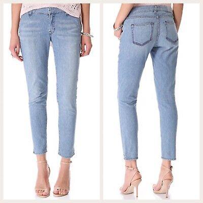 ELIZABETH AND JAMES TEXTILE Quincy Domino Pant Jeans Womens Split Ankle 26