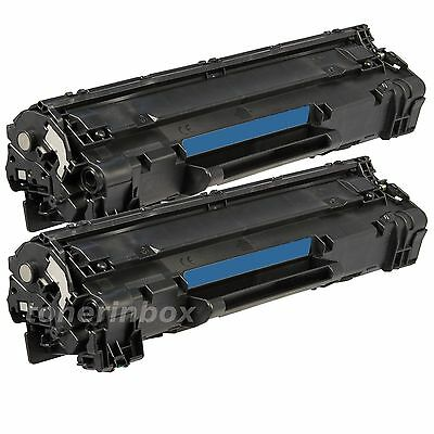 2PK NEW Generic (83A) CF283a Bk Toner For HP LaserJet Pro MFP M127 M127fw M125nw