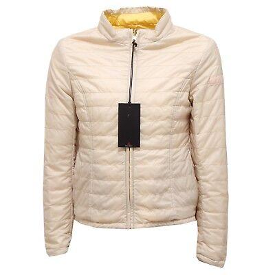 promo code 8efb9 fb129 Details about 5540R giubbotto bimba girl PEUTEREY BONAIRE beige/yellow  reversible jacket