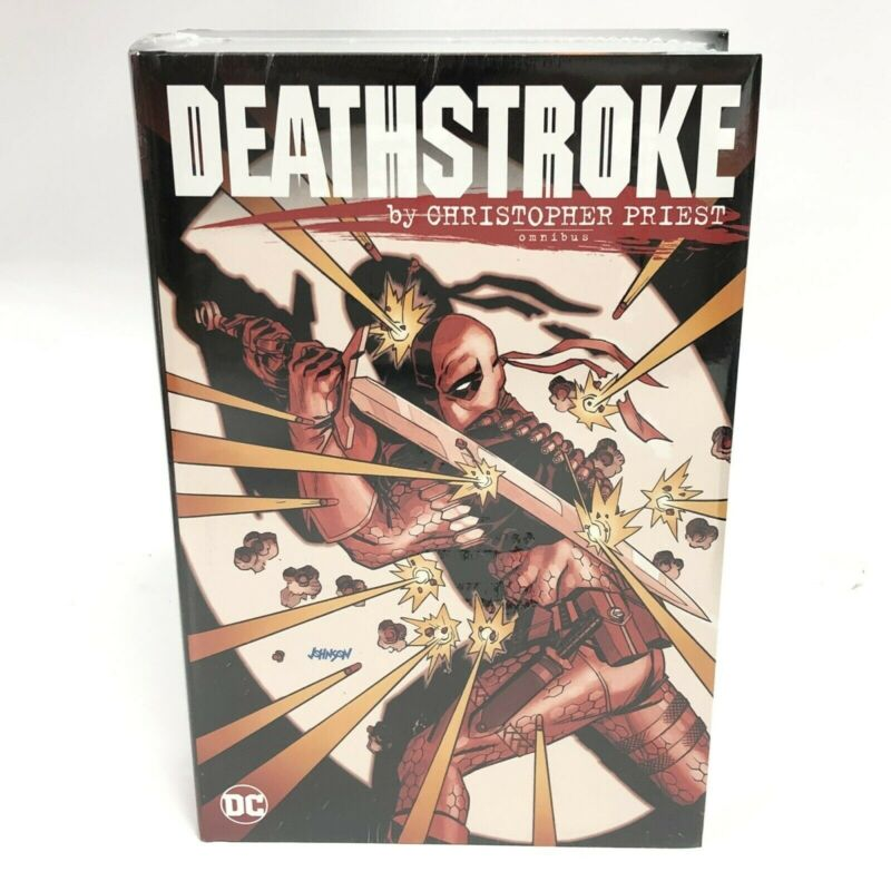 Deathstroke by Christopher Priest Omnibus New DC Comics HC Sealed