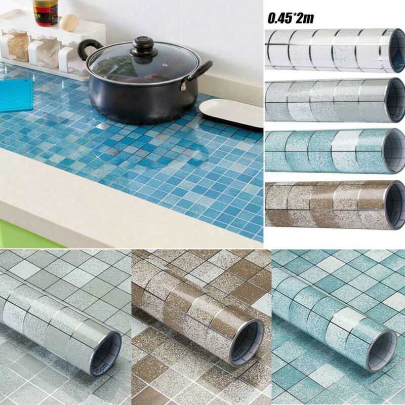 Mosaics Contact Paper Self Adhesive Peel + Stick Tile Sticke