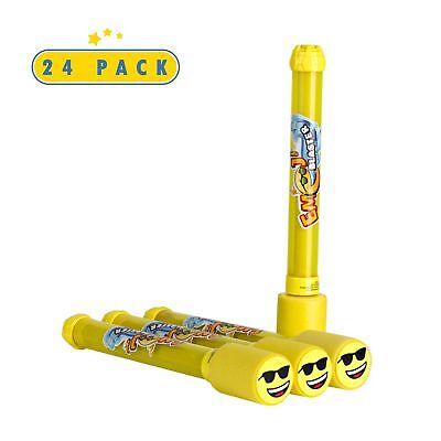 24 Pack Emoji Blaster Water Guns- Bulk Pack Water Shooters