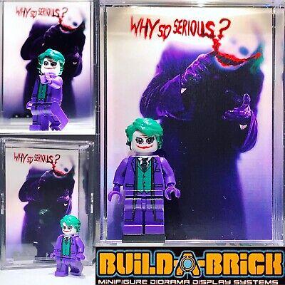 Dark Knight Joker Custom Mini Action Figure w Display Case & Stand Mini-fig 471