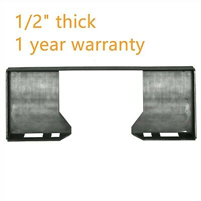 Quick Tach 12 Attachment Mount Plate For Kubota Bobcat Skid Steer Loader