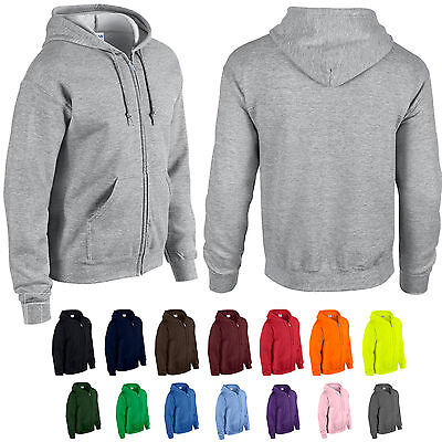 Kapuzenjacke GILDAN G18600  Jacke Full Zip Hooded Sweatshirt Hoodie   Full Zip Sweatshirt Jacke