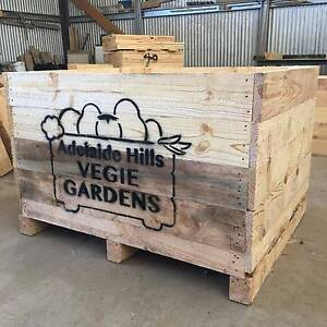 New wooden crates for raised garden beds, wicking beds. Mount Torrens Adelaide Hills Preview