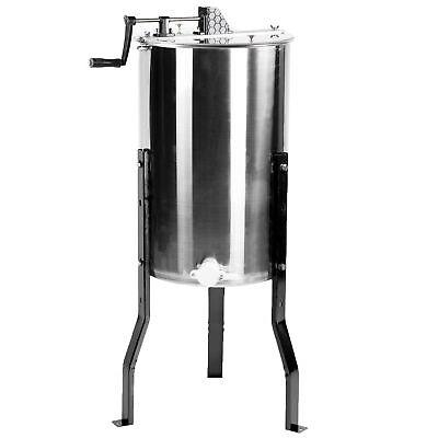 Vivo Large Two 2 Frame Stainless Steel Honey Extractor Bee-v002