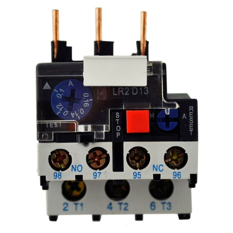 Direct Replacement Telemecanique LR2D LR2D1310 Thermal Overload Relay 4.0-6.0A