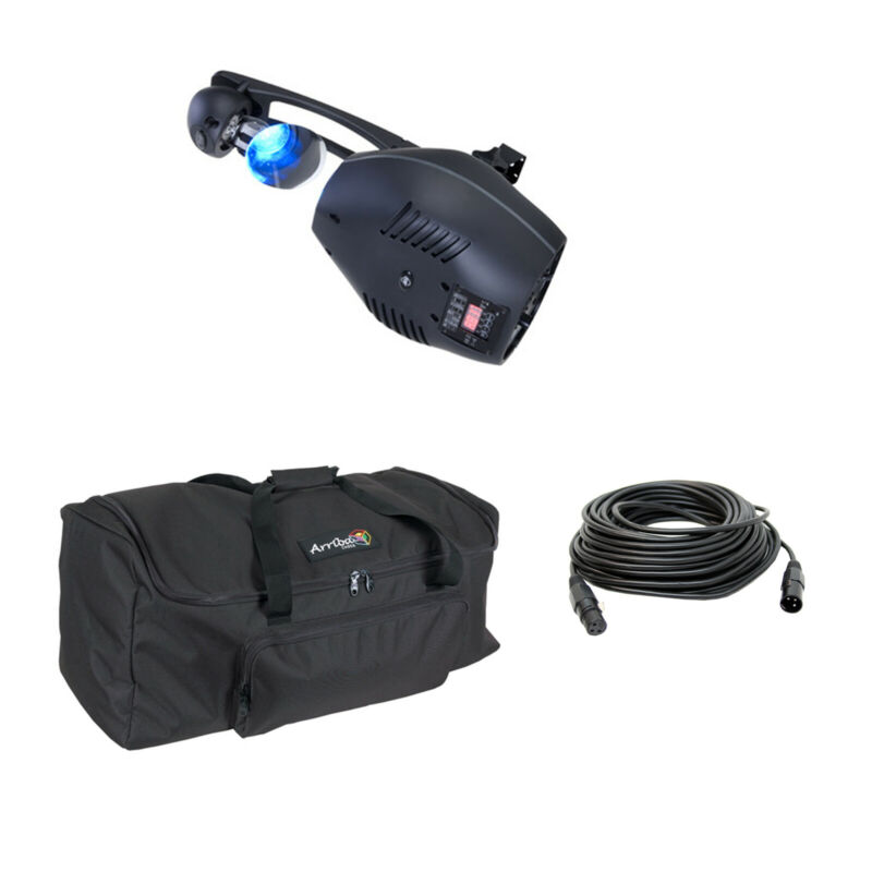 American DJ High-Performance DMX Scanner with Wash Effect Lighting Package 2