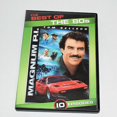 The Best of The 80s Magnum PI 10 Episodes Tom Selleck 2 Disc Set Full